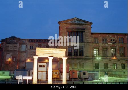 Neues Museum on Museum Island - Stock Photo