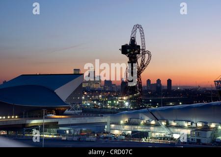 Olympic stadium, Olympic Parc, Stratford, London, England, UK, Europe - Stock Photo