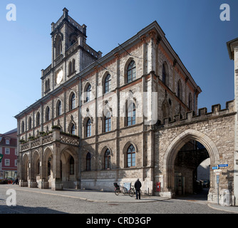 Town hall, Weimar, Thuringia, Germany, Europe, PublicGround - Stock Photo