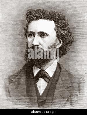 Peter Graham, 1836-1921. Scottish Painter. From The Magazine of Art published1878 - Stock Photo