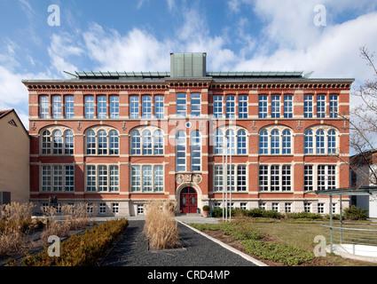 Wohnungswirtschaftliches Dienstleistungszentrum, housing industry services centre, Erfurt, Thuringia, PublicGround - Stock Photo