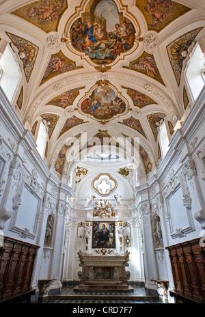 Europe Italy,Campania Cilento, Padula, the church of the Certosa of San Lorenzo - Stock Photo