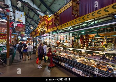 Interior of St Lawrence Market, Toronto, Ontario, Canada - Stock Photo