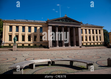 University of Oslo, The Faculty of Law, Oslo, Norway. - Stock Photo