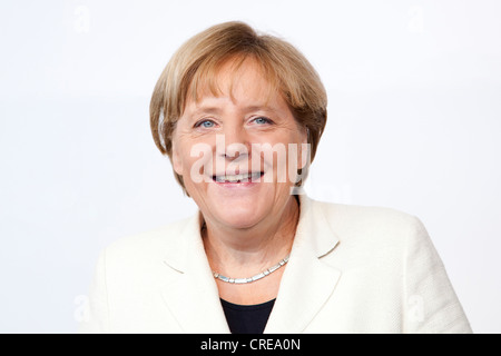Angela Merkel, Chancellor of Germany, CDU, at BDI day of German Industry, 27 September 2011, Berlin, Germany, Europe - Stock Photo