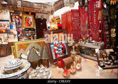 Interior Of Shop In The Arabian Souk Area In The Emirates