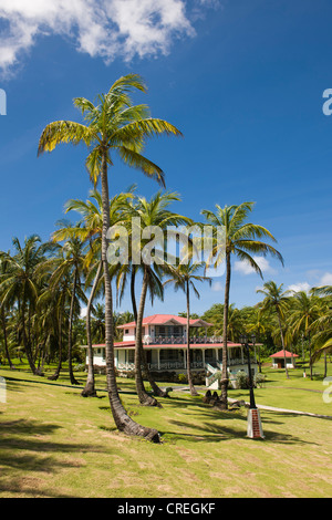 Weekend home of President Daniel Ortega, Big Corn Island, Caribbean Sea, Nicaragua, Central America - Stock Photo