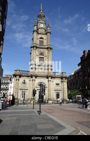 St George's Tron Church of Scotland Parish Church, Nelson Mandela Place, Glasgow City Centre, Scotland, UK