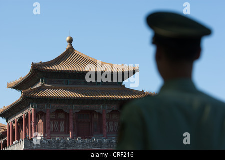 The Forbidden City, in Beijing, China