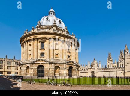 Radcliffe Camera  University city of Oxford, Oxfordshire, England uk gb europe - Stock Photo
