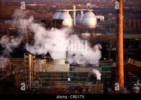Prosper coking plant and waste water treatment plant Emscher, Germany, North Rhine-Westphalia, Bottrop - Stock Photo