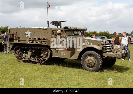 D Day Us Military Half Track Near Arromanches Calvados Normandie     Alamy US Army mechanized Infantry in Normandy       middot  An American military half track dating from the Second World War  WW II