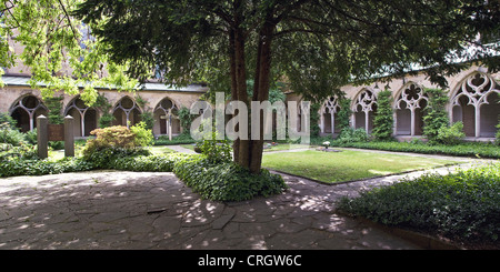 cross-coat of Essen Cathedral, Germany, North Rhine-Westphalia, Ruhr Area, Essen - Stock Photo