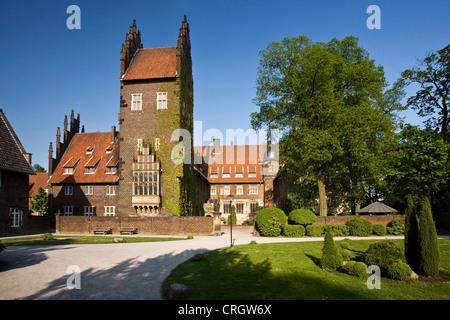Heesen castle, Germany, North Rhine-Westphalia, Ruhr Area, Hamm - Stock Photo