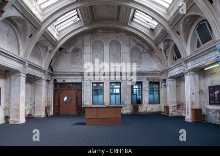 The room where the Titanic was designed in the former Harland and Wolff shipyard in Belfast, Northern Ireland - Stock Photo