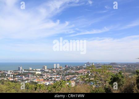 Beach at hua hin,thailand - Stock Photo