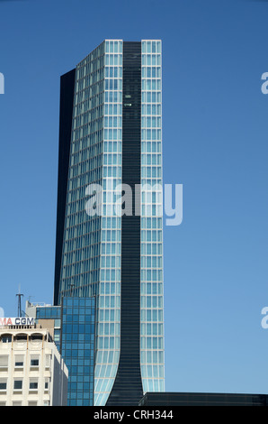 Cma cgm headquarters office tower building by zaha hadid in the stock photo royalty free image - Cma cgm france head office ...