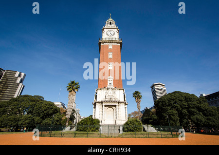 English Tower (Torre de Los Ingleses) Buenos Aires Argentina South America - Stock Photo