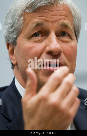Jamie Dimon, chairman of the board, president and CEO of JPMorgan Chase & Co. - Stock Photo