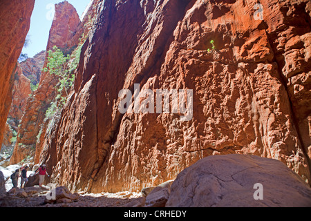 Standley Chasm in the West MacDonnell Ranges - Stock Photo