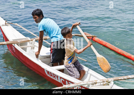 small boat asian