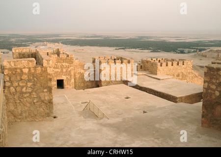 Arab castle, Qala'at Ibn Maan, Syria, Palmyra - Stock Photo
