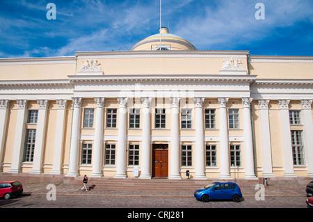 Suomen Kansalliskirjasto, National Library of Finland, Kruununhaka district, Helsinki, Finland - Stock Photo