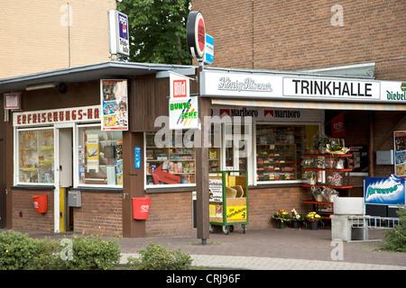 kiosk in Xanten, Germany, North Rhine-Westphalia, Xanten - Stock Photo