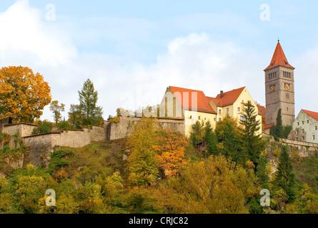 Castle Monastery in Kastl, Germany, Bavaria - Stock Photo