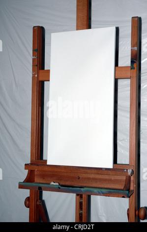 Artist's easel - Stock Photo