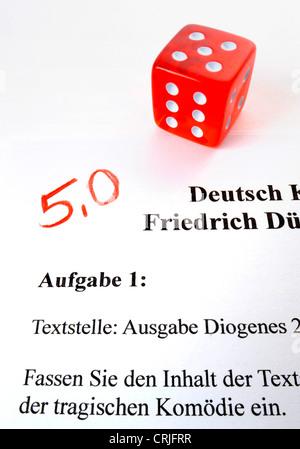 marking is gambling, Germany - Stock Photo