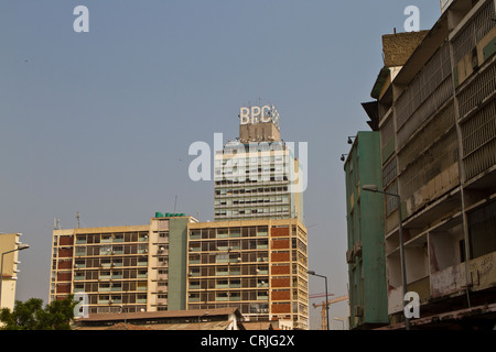 Buildings in Luanda Angola - Stock Photo