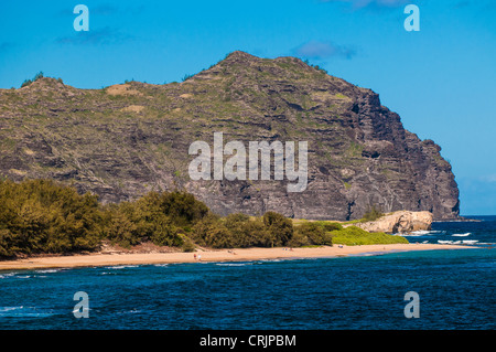 Mahaulepu Kauai Hawaii Stock Photo Royalty Free Image 48970601 Alamy