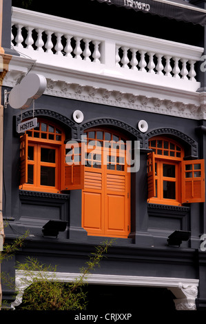 house in little india, singapore - Stock Photo