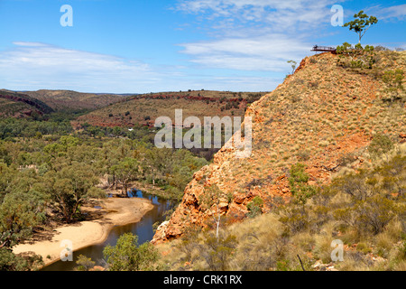 Ormiston Gorge in the West MacDonnell Ranges - Stock Photo