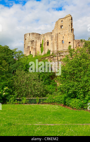Barnard Castle, Teesdale, County Durham, England, UK. - Stock Photo