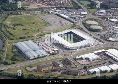 Derby County football ground - Stock Photo