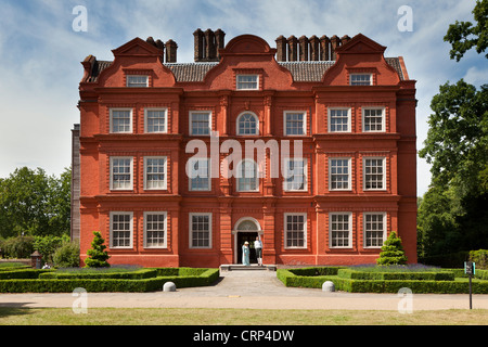 Kew Palace, a British Royal Palace in Kew Gardens, first occupied by members of the Royal Family in 1734 when it - Stock Photo