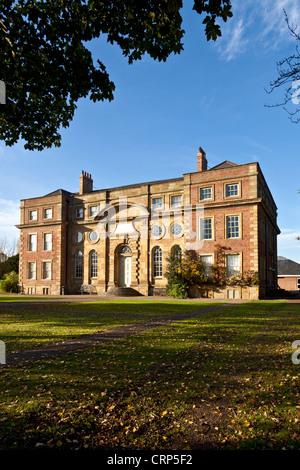 Kirkleatham Museum in Kirkleatham Old Hall, built in 1709 as a 'Free School'. - Stock Photo