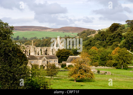 Bolton Abbey, North Yorkshire Dales - Stock Photo
