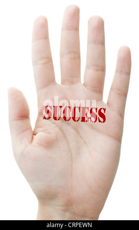 Stamp of success - Stock Photo