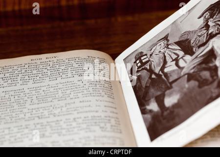 Rob Roy by Sir Walter Scott - Stock Photo