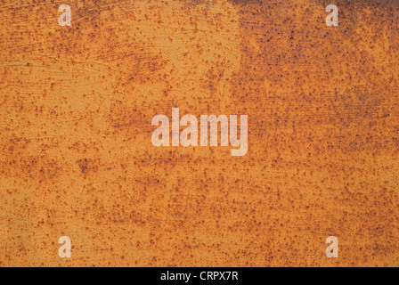 close up view of rusty metal texture - Stock Photo