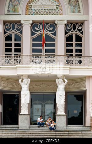municipal theatre, ho chi minh city, vietnam - Stock Photo