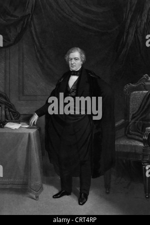 Millard Fillmore, 13th President to the United States America, 1850 - 1853 - Stock Photo