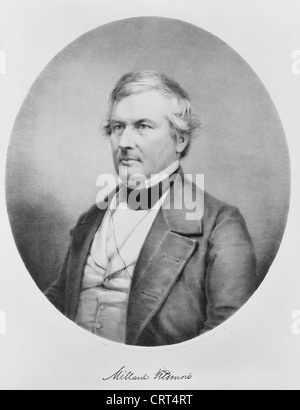 Millard Fillmore, 13th President of the United States of America, 1850-1853 - Stock Photo