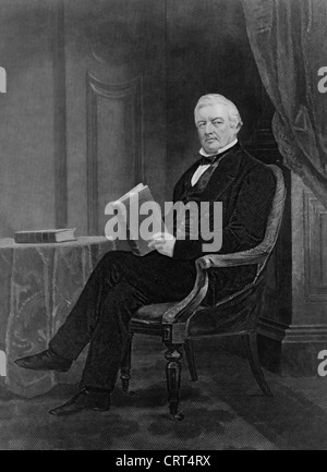 Millard Fillmore, 13th President of the USA, 1850-1853 - Stock Photo