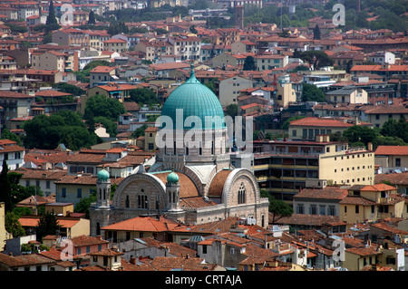 Great Synagogue Florence Italy - Stock Photo