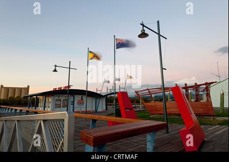 Home point Launceston is located in Tasmania Australia. - Stock Photo