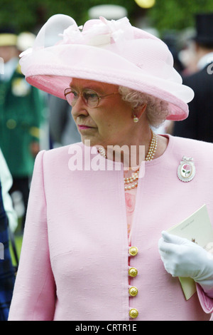 Your Royal Highness Queen Elizabeth in Portrait - Stock Photo